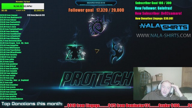 Stream by ProTech - StarCraft II: Heart of the Swarm