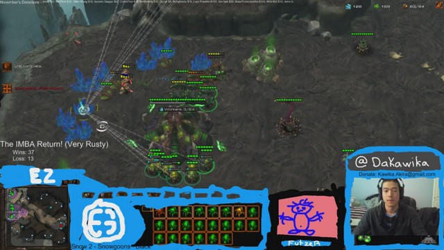 Stream by IMBACoaching - StarCraft II: Heart of the Swarm