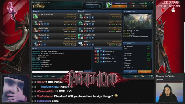 Stream by PhantomL0rd - League of Legends