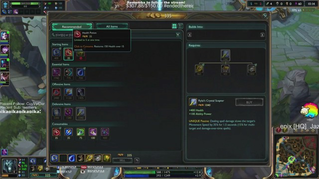 Stream by bigfatlp - League of Legends