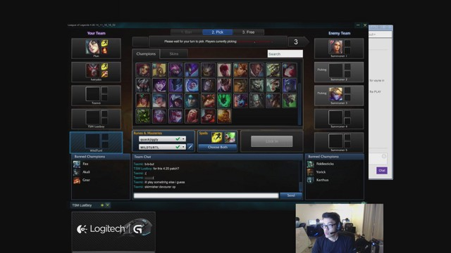 Stream by TSM_WildTurtle - League of Legends