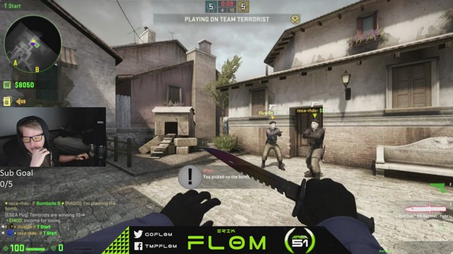 Stream by fl0m - Counter-Strike: Global Offensive