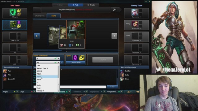 Stream by MegaZeroLoL - League of Legends