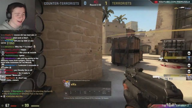 Stream by muselk - Counter-Strike: Global Offensive