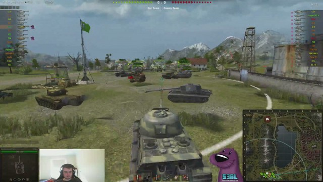 Stream by Fosc0 - World of Tanks