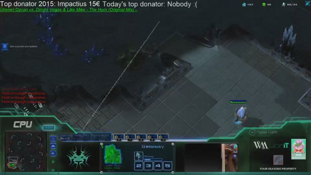 Stream by CPUsc2 - StarCraft II: Heart of the Swarm