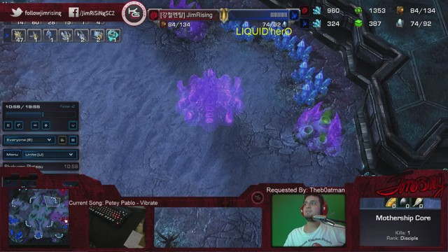 Stream by JimRsNg - StarCraft II: Heart of the Swarm