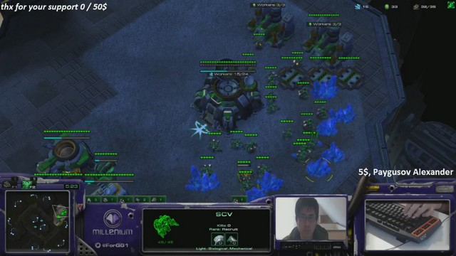 Stream by ForGG - StarCraft II: Heart of the Swarm