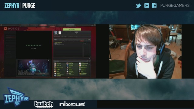 Stream by purgegamers - Dota 2
