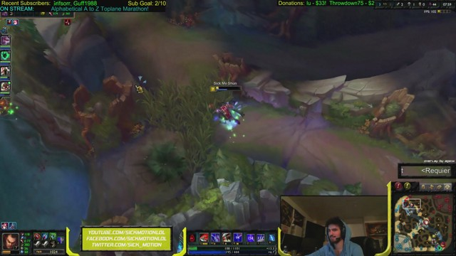 Stream by SickMotionLoL - League of Legends