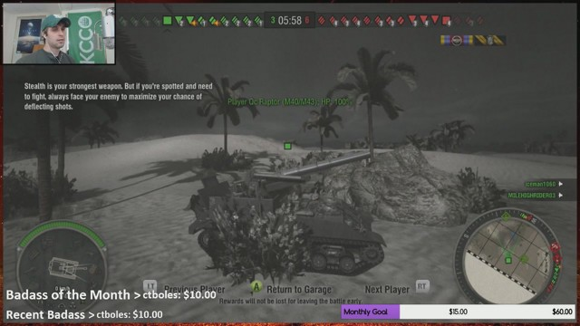 Stream by MADhatter757 - World of Tanks