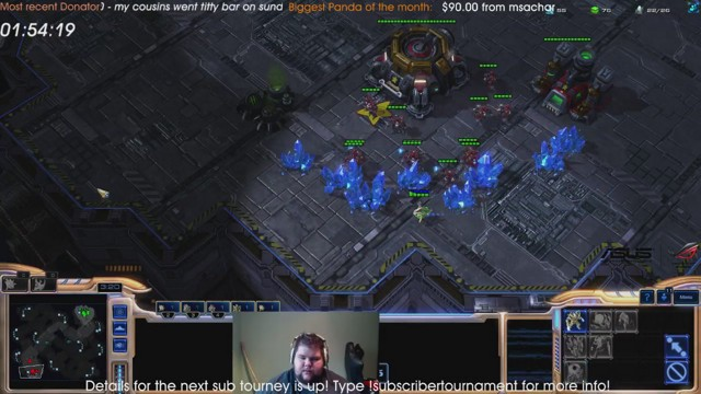 Stream by desRowfighting - StarCraft II: Heart of the Swarm