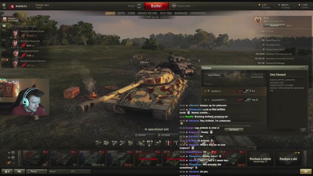 Stream by Anfield_US - World of Tanks