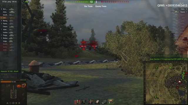 Stream by kle0_tv - World of Tanks