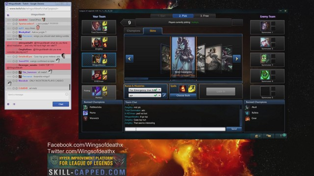 Stream by Wingsofdeath - League of Legends