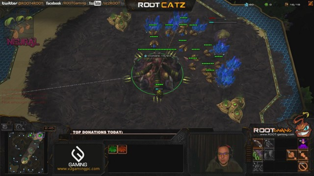 Stream by ROOTCatZ - StarCraft II: Heart of the Swarm