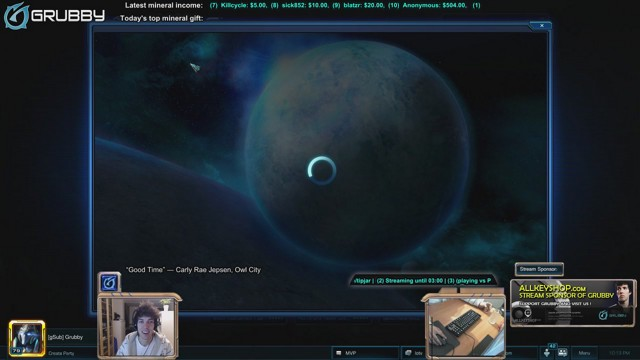 Stream by FollowGrubby - StarCraft II: Heart of the Swarm