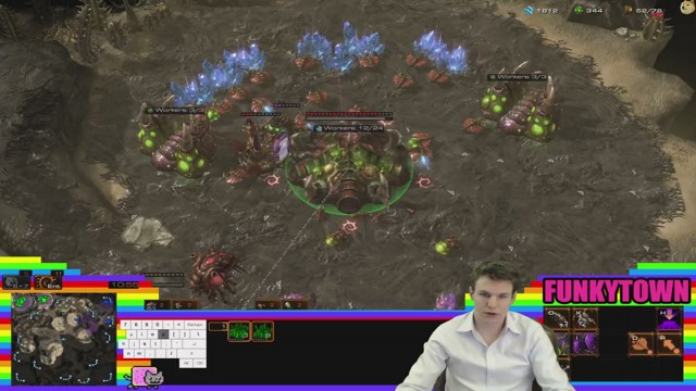 Stream by FunkytownSC2 - StarCraft II: Heart of the Swarm
