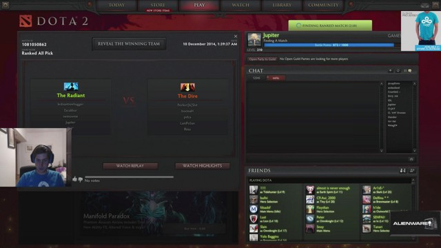 Stream by bOne7 - Dota 2