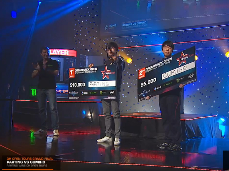 PartinG – первый чемпион SC2 DreamHack Open/Tours