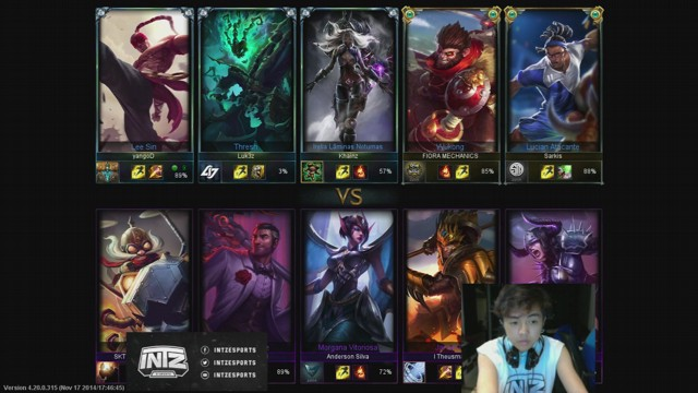 Stream by zhaozinho - League of Legends