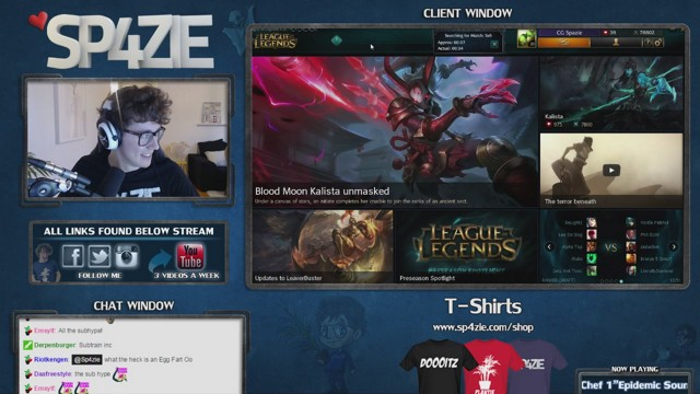 Stream by Sp4zie - League of Legends