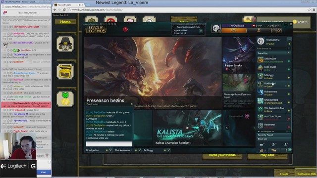 Stream by TSM_TheOddOne - League of Legends