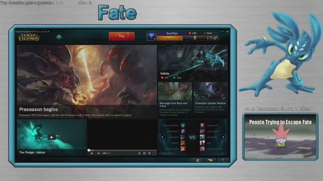 Stream by Fatefalls - League of Legends