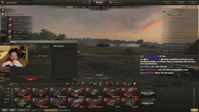 Stream by Zeven_NA - World of Tanks