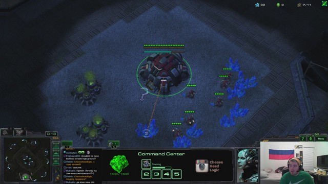 Stream by CheeseHeadLogic - StarCraft II: Heart of the Swarm
