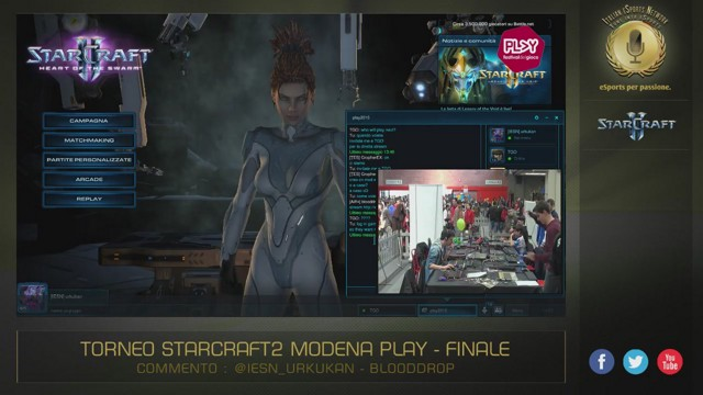 Stream by ItalianESportsNetwork - StarCraft II: Heart of the Swarm